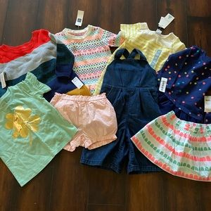 New Bundle of Baby Girls Clothes